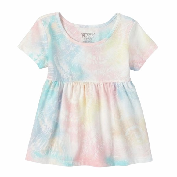 5/$25 Children's Place Tie Dye Baby Doll Top